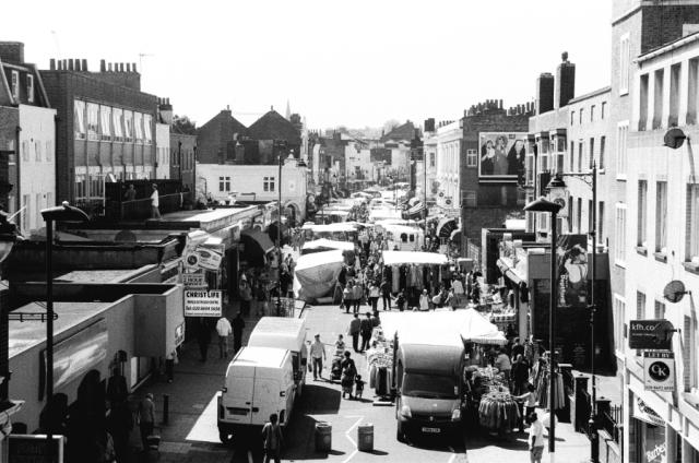 Deptford High Street _ Market Day