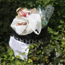 Please take your rubbish home